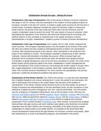 Economics: Globalisation (NEW SPEC) - Edexcel