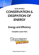 GCSE Physics Energy and Efficiency Complete Lesson Pack (with Practical)