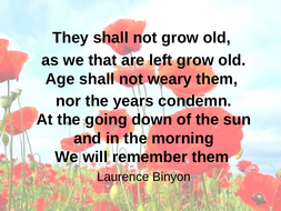 remembrance-they-shall-not.ppt