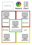 Home / School Reward Chart for ASC ASD SEND