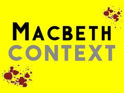 Macbeth: Context
