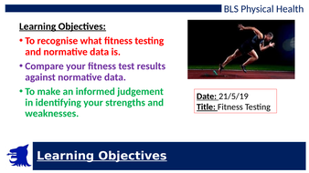BTEC TECH Award in Sport, Activity and Fitness (Exam Component LAA)