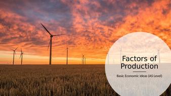 CIE-9708-Economics---Basic-Economic-Problems-(AS)---Factors-of-Production.pptx