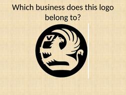 Logo quiz - branding intro