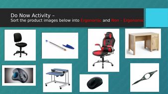 Form follows function Starter Activity