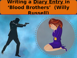 'Blood Brothers'  Diary Writing  Features / Language Techniques