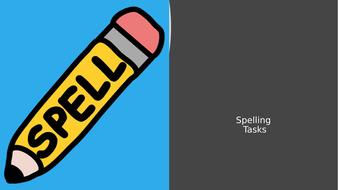 Spelling-Tasks.pptx
