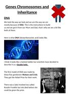Genes Chromosomes and Inheritance