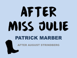 After Miss Julie (Protest Writing Section A: AQA)