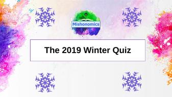 Christmas 2019 Quiz