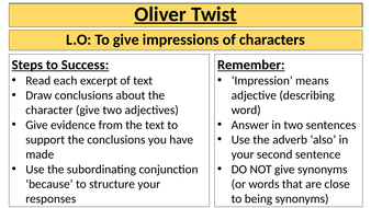 Oliver-Twist-Character-Impressions.pptx