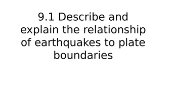 Natural Hazards A Level (Tectonic Hazards)