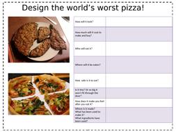 Design-the-World's-worse-pizza-worksheet.pptx