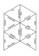 KS3 Spanish Tarsia puzzles