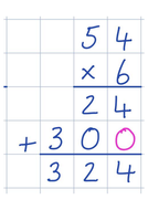 Expanded Column Multiplication Method Posters
