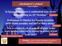 Halloween - día de los muertos - día de todos Los Santos - Y7 SPANISH