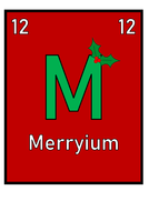 Christmas Science Elements Display