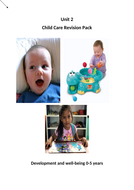 CASHE NCFE Unit 2 Child Development Revision resource