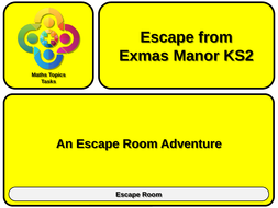 ESCAPE-ROOM-Escape-from-Exmas-Manor-KS-TWO---TEACHER.pptx