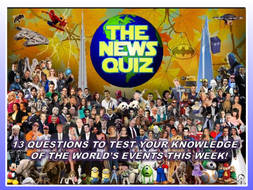 The News Quiz 11th -18th November 2019 Form Tutor Time Current Affairs