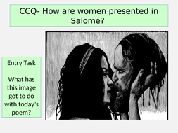 AQA Unseen Poetry- Salome