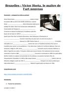 Bruxelles : Victor Horta, le maître de l'art nouveau (le patrimoine, l'architecture)