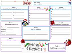 Christmas-Quiz-2019---Student-Answer-Sheet.pptx