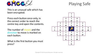 Playing Safe - A 'Start the Day' Puzzle