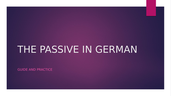 THE-PASSIVE-IN-GERMAN.pptx