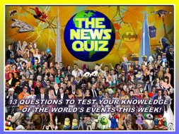 The News Quiz 18th - 25th November 2019 Form Tutor Time Current Affairs