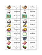 Thanksgiving in German Dominoes