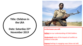 Child Soldiers in the LRA