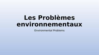 GCSE-French-les-Problemes-Environnementaux.pptx