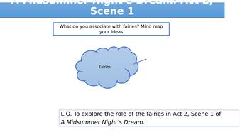 A Midsummer Night's Dream: Act 2, Scene 1