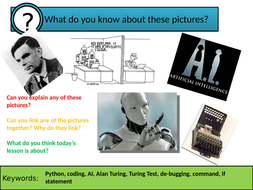 Chatbots and the Turing Test