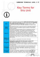 CTEC Level 3 IT Unit 2 Booklets
