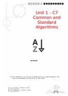 C7-Standard-Algorithms.docx