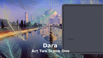 Dara---Year-11-IGCSE---Act-Two-Scene-One.pptx