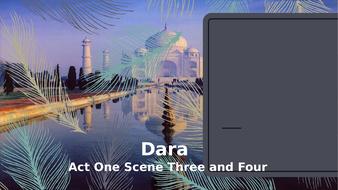 Dara---Year-11-IGCSE---Act-One-Scene-Three-and-Scene-Four.pptx