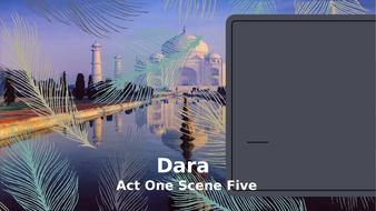Dara IGCSE Drama 2019-2020 Act 1