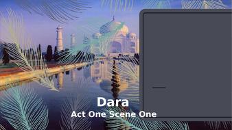 Dara---Year-11-IGCSE---Act-One-Scene-One.pptx