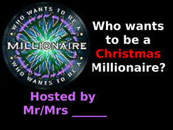 Millionaire-Christmas.ppt