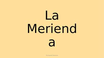 La-Merienda-Vocabulary-and-Games.pptx