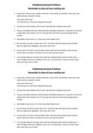 Multiplying Decimals (Worded problem solving questions)