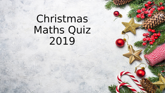 KS2 Christmas Maths Quiz (with answers!)