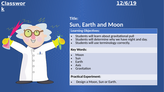 Homeschool-Science-6---Sun--Earth-and-Moon.pptx