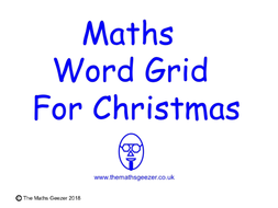 Maths-Word-Grid-for-Christmas.pptx
