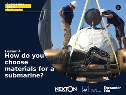 Submarine STEM KS2: How do you choose materials for a submarine?