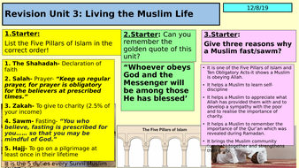 Islam-Unit-3-Living-the-Muslim-life-Revision-PP-(1).pptx