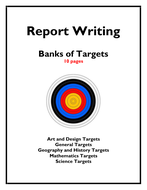 Banks of Targets for Writing Reports